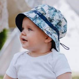 HIPOLITO kapelusz chłopięcy Jamiks JLC119 kolor szmaragdowy