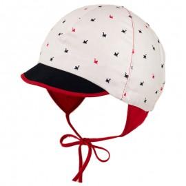 JACK czapka z daszkiem wiązana chłopięca Jamiks JLC015 kolor czerwony