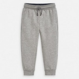 Długie spodnie sportowe dla chłopca Mayoral 742-25 szare