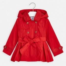Płaszcz dziewczecy Mayoral 3474-91 czerwony