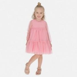 Sukienka tiulowa dla dziewczynek Mayoral 3920-29 róż
