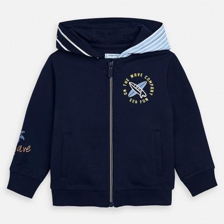 Bluza z nadrukami chłopięca Mayoral 3449-34 Granatowy