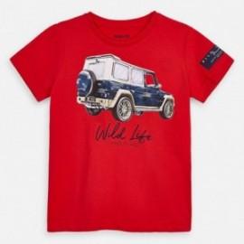Koszulka z krótkim rękawem chłopięca Mayoral 3071-62 Czerwony