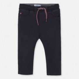Spodnie na gumce dla chłopców Mayoral 1547-70 granat