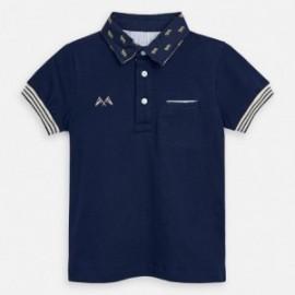 Koszulka polo dla chłopców Mayoral 3145-55 Granatowy