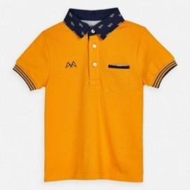 Koszulka polo dla chłopców Mayoral 3145-53 Pomarańcz
