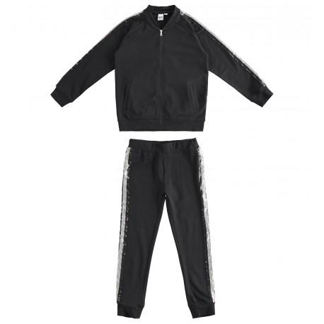 Dres sportowy do joggingu dziewczęcy iDO J573-0658 kolor czarny