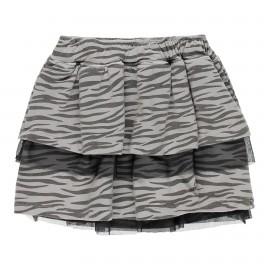 Dzianinowa spódnica dla dziewczynki Boboli 449120-9321 kolor szary