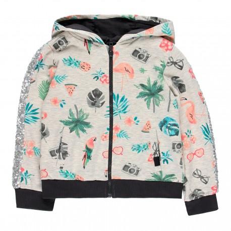 Bluza dla dziewczynki Boboli 469054-9332 kolor kolorowy