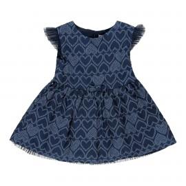 Sukienka dla dziewczynki Boboli 709129-9336 kolor granatowy