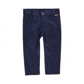 Satynowe spodnie dla chłopca Boboli 719029-2440 kolor granat