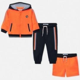 Dres 3-częściowy dla chłopców Mayoral 1892-47 Pomarańcz neon