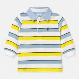 Koszulka polo chłopięca Mayoral 1155-43 Żółty