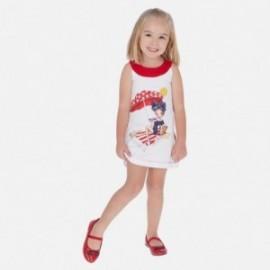 Sukienka bawełniana dziewczęca Mayoral 3960-60 Czerwony