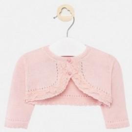 Sweterek elegancki dla dziewczynki Mayoral 1317-57 Róż