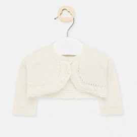 Sweterek elegancki dla dziewczynki Mayoral 1317-58 krem