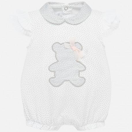 Piżama dla dziewczynki Mayoral 1753-25 Szary