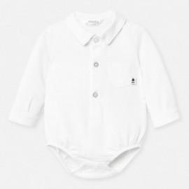 Body koszulowe dla chłopca Mayoral 1788-96 Biały