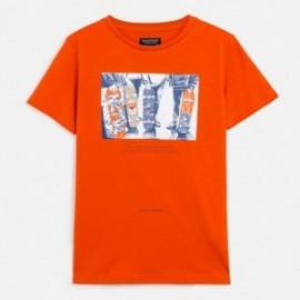 Koszulka sportowa chłopięca Mayoral 6059-15 Pomarańczowy