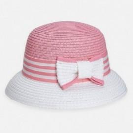 Kapelusz elegancki dla dziewczynki Mayoral 10816-95 Różowy