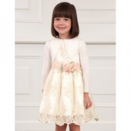 Bolerko eleganckie dla dziewczynki Abel & Lula 5313-64 krem