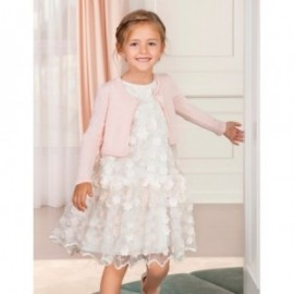 Sweterek bolerko eleganckie dla dziewczynki Abel & Lula 5314-76 róż