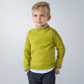 Sweter bawełniany chłopięcy Mayoral 323-70 Zielony