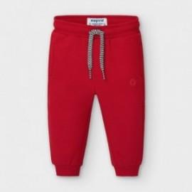 Długie spodnie chłopięce Mayoral 704-43 Czerwony