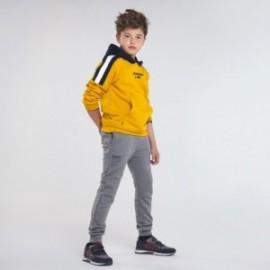Długie spodnie dresowe dla chłopca Mayoral 705-54 Szary