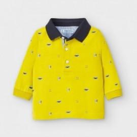 Koszulka polo dla chłopczyka Mayoral 2124-11 żółta