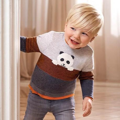 Sweter chłopięcy Mayoral 2344-96 szary
