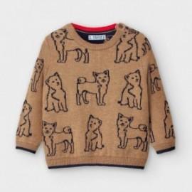 Sweter chłopięcy Mayoral 2350-56 beżowy