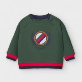 Bluza bez kaptura chłopięca Mayoral 2474-31 zielona