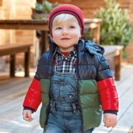 Kurtka pikowana zimowa chłopięca Mayoral 2483-55 zielona