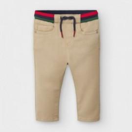 Spodnie jogger chłopięce Mayoral 2578-68 piaskowe