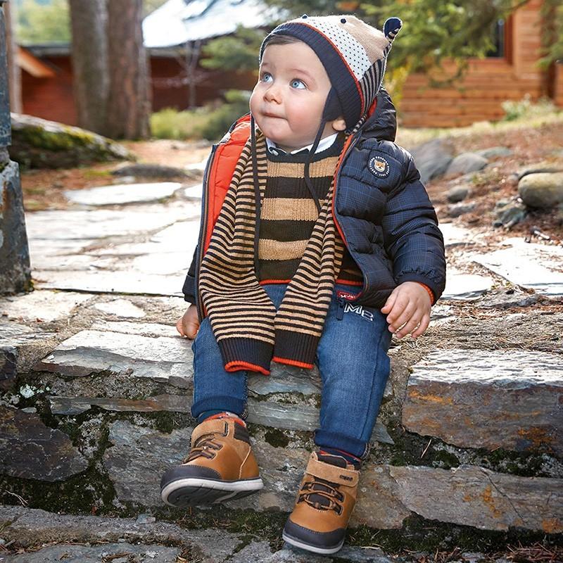 Spodnie dla chłopca Mayoral 2584-91 niebieskie