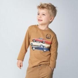 Koszulka z długim rękawem dla chłopca Mayoral 4038-79 Brązowy