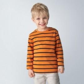 Komplet 2 koszulek dla chłopców Mayoral 4043-51 granat/pomarańcz