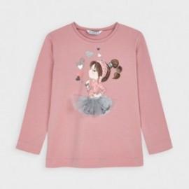 Koszulka z długim rękawem dziewczynka Mayoral 4070-50 Różowy
