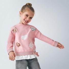 Bluza łączona dziewczęca Mayoral 4401-71 Różowy