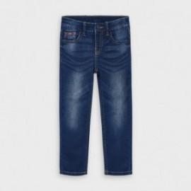 Spodnie jeans dla chłopca Mayoral 4531-16 granat