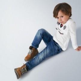 Spodnie jeans dla chłopca Mayoral 4531-15 niebieskie