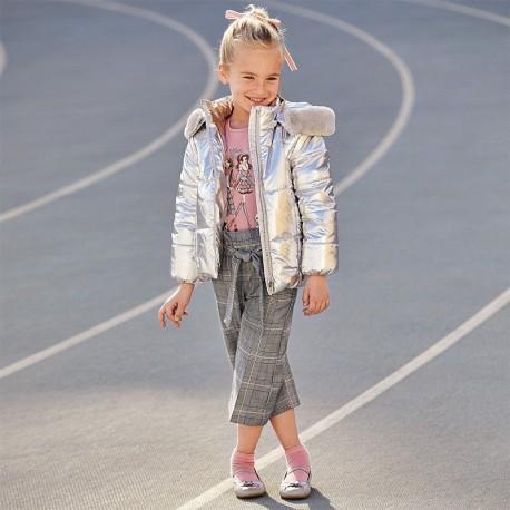 Spodnie eleganckie dla dziewczynek Mayoral 4553-25 Szare