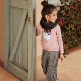 Komplet ze spodniami dla dziewczynek Mayoral 4555-15 Szary