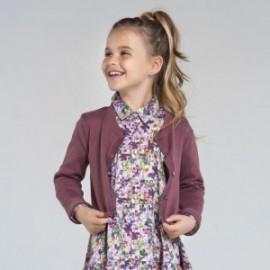 Sweter rozpinany dziewczęcy Mayoral 7332-15 Fioletowy