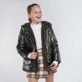 Kurtka dwustronna dla dziewczynki Mayoral 7412-53 Zieleń