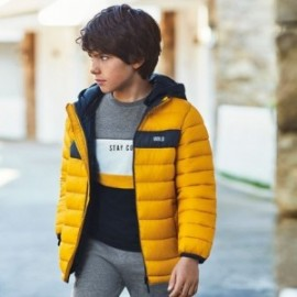 Kurtka pikowana dla chłopca Mayoral 7474-75 Żółty