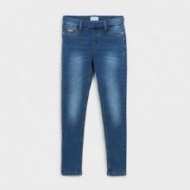Spodnie jeans basic dla dziewczynki Mayoral 578-67 granat
