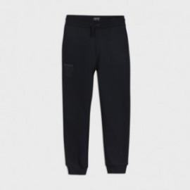 Długie spodnie dresowe dla chłopca Mayoral 705-57 Granat