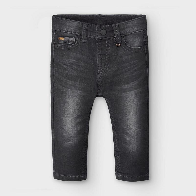 Spodnie dla chłopca Mayoral 2584-92 Czarne